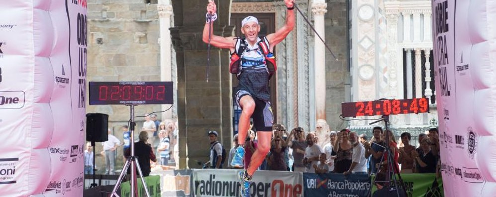Orobie Ultra Trail: il re è Bosatelli Concorrenza sbaragliata in 24h8'