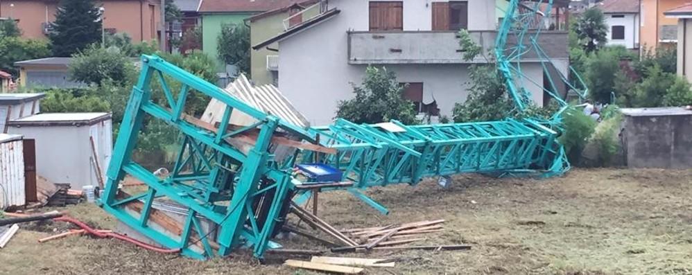 Un incubo: temporali e trombe d'aria Finimondo, tutta la provincia colpita