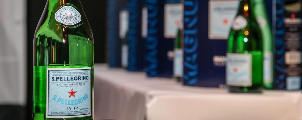 Acqua minerale come Champagne San Pellegrino, la bottiglia Magnum