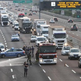 Bergamo, il rischio corre sull'A4 È tra le 5 autostrade più pericolose