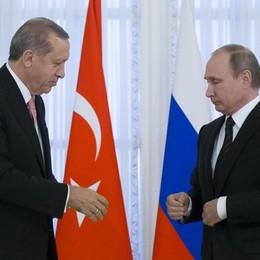 Da Putin ed Erdogan messaggio all'Europa