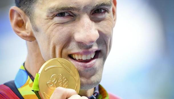 Rio: 21/o titolo olimpico per Phelps