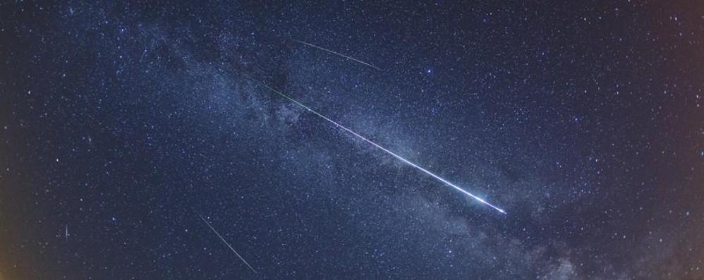 San Lorenzo, arrivano le stelle cadenti Il picco nella notte tra l'11 e il 12 agosto