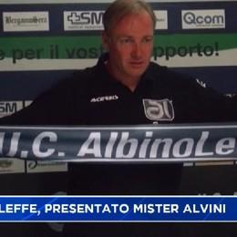 AlbinoLeffe, presentato l'allenatore Alvini