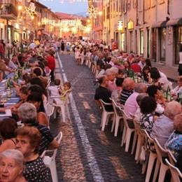 Santa Caterina, tutti a tavola insieme  La festa dell'Apparizione è anche a cena