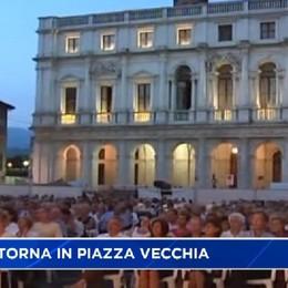 Lunedì 22 agosto la lirica a cielo aperto, Aida torna in Piazza Vecchia.