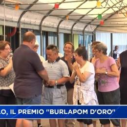 Premolo, il premio Burlapom d'oro al CVS di Clusone