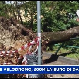 Dalmine. Danni  per 300mila euro al Velodromo