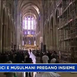 Montello, musulmani a messa a pregare insieme ai cattolici