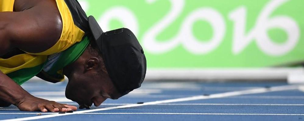 Bolt show: 9°  oro con la 4x100 - video 4x400 azzurra in finale senza Milani