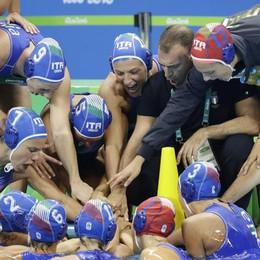 Il Setterosa della bergamasca Teani medaglia d'argento alle Olimpiadi di Rio