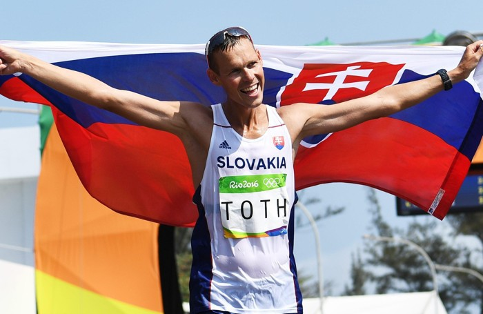 Lo slovacco Matej Toth medaglia d'oro nella 50 km di marcia