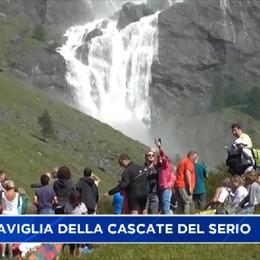 La meraviglia delle cascate del Serio