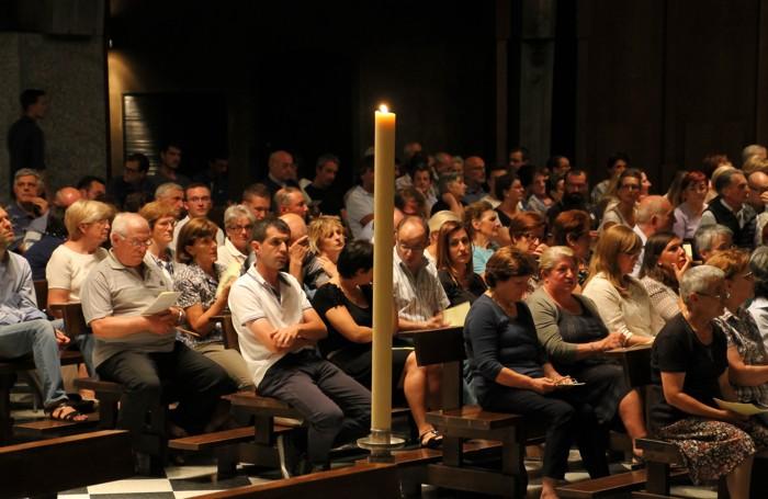 La veglia di preghiera per monsignor Silvano Ghilardi
