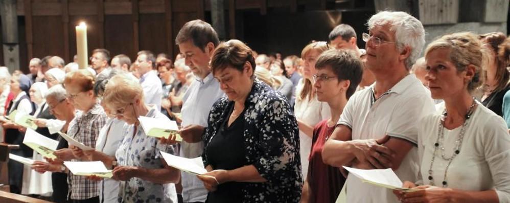 Veglia di preghiera per monsignor Ghilardi «Prete autentico, come don Seghezzi»