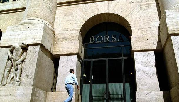 Borsa Milano in calo, Ftse Mib -1,07%