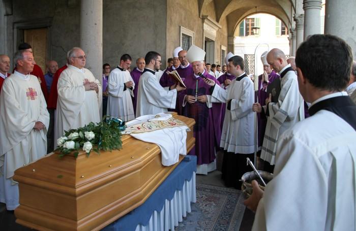 I funerali di monsignor Silvano Ghilardi