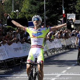 Il grande ciclismo juniores a Vertova  per la Due Giorni Internazionale