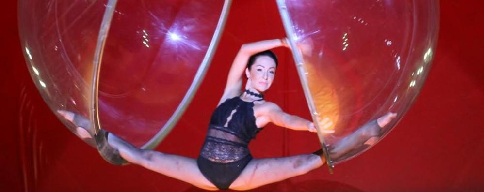 La magia del circo torna a Bergamo - foto Fino al 18 settembre in via Lunga - video