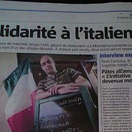 Sisma, solidarietà bergamasca da Nizza Due  euro per ogni piatto all'amatriciana