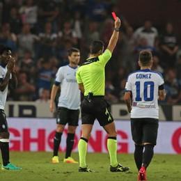 Atalanta, Carmona si scusa dopo il rosso «Ho messo in difficoltà la squadra»