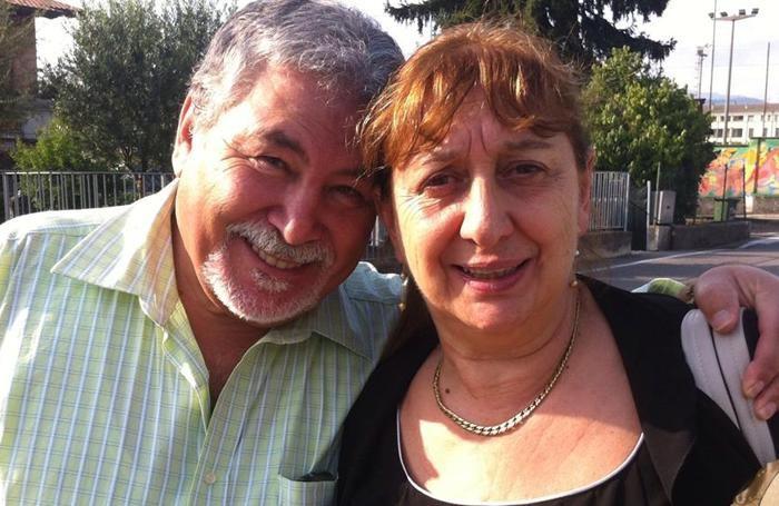 Antonio Tizzani e Gianna Del Gaudio