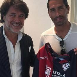 Borriello addio: ufficiale al Cagliari Atalanta, Cabezas in arrivo in Italia