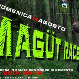 Corsa con un sacco di cemento in spalla A Songavazzo arriva la «Magüt race»