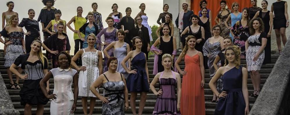 Serata di moda  a Costa Serina