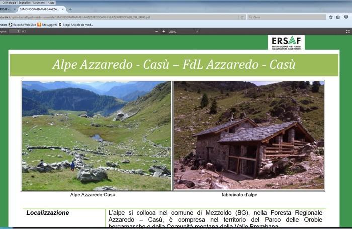 L'Alpe Azzaredo a Mezzoldo