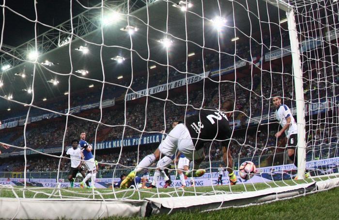 Il gol di Kessié al 27' pt
