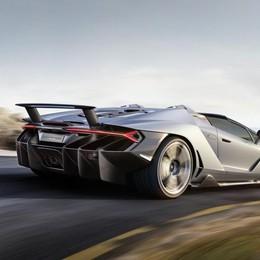 Lamborghini Roadster: 20 esemplari Già tutti venduti: costa 2 milioni di euro