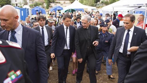 Sisma: Renzi, lavoreremo con tutti