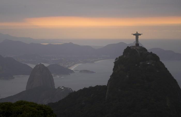 Uno spettacolare panorama di Rio de Janeiro