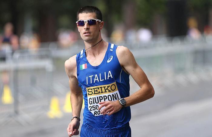 L'atleta Matteo Giupponi