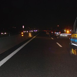 Muore 56enne di Dalmine in autostrada Travolto da un camion dopo un incidente