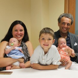 «Non c'è battito», cesareo al sesto mese Per le gemelline Elisa e Giulia vince la vita