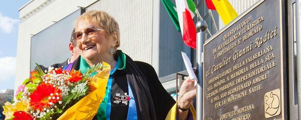 È morta Luciana Previtali Radici I funerali mercoledì alle 15 a Leffe