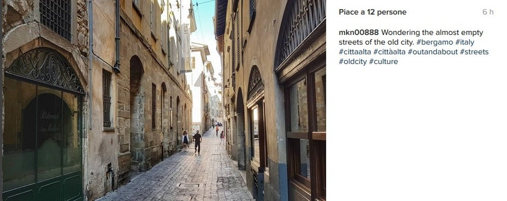 Instagram, #bergamo fa boom Terzo in Lombardia, ma Como...