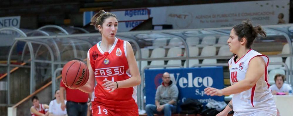 Basket: Alice Carrara spicca il balzo Dalla Fassi Albino alla serie A1