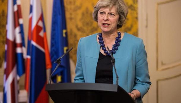 Brexit: May,meno ingressi da Ue priorità
