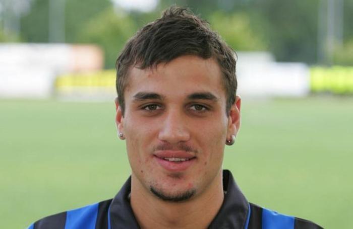 Un giovanissimo Osvaldo all'Atalanta
