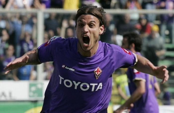 L'esplosione di Osvaldo con la Fiorentina