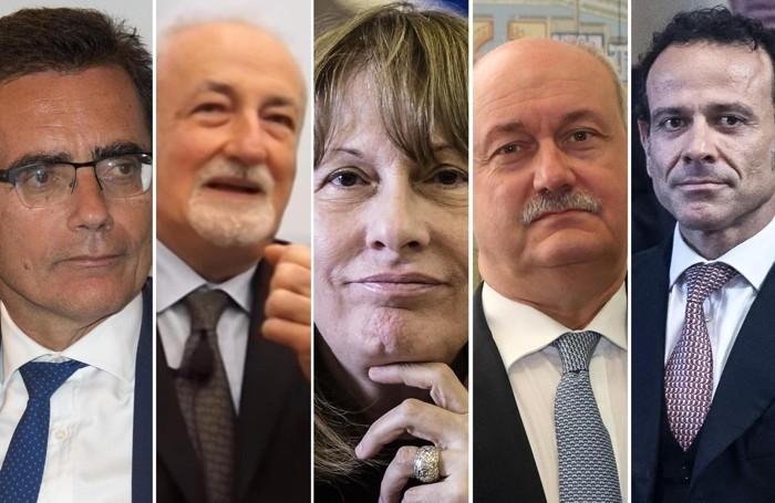 Solidoro, Brandolese, Raineri, Rettighieri e Minenna: i cinque che si sono dimessi