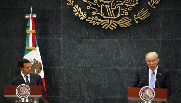 Trump, Messico pagherà costruzione muro