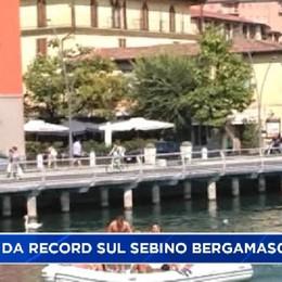 Lago d'Iseo: estate da record sulla sponda bergamasca