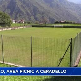 Premolo, nuova area picnic a Ceradello