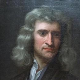 Sabato 17 sorpresa alla Tadini di Lovere: la copia di un ritratto di  Isaac Newton