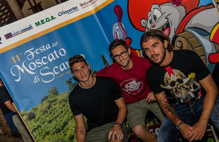 Mattia Caldara e Alberto Paloschi a Scanzo