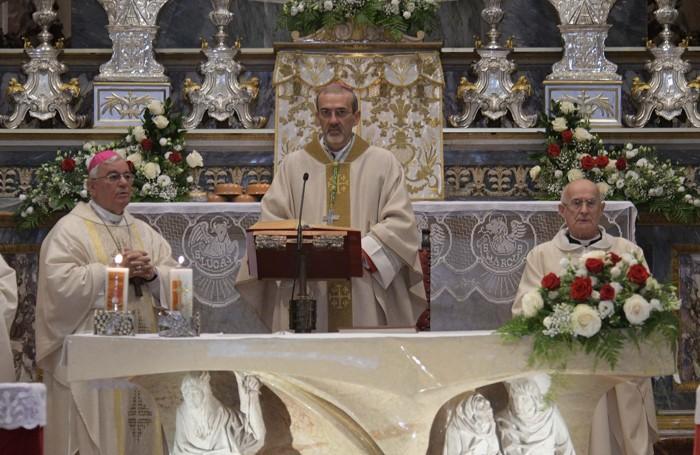 Il neo arcivescovo Pierbattista Pizzaballa a Cologno al Serio